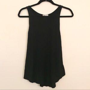 Victoria's Secret PINK Black Super Soft Tank Top